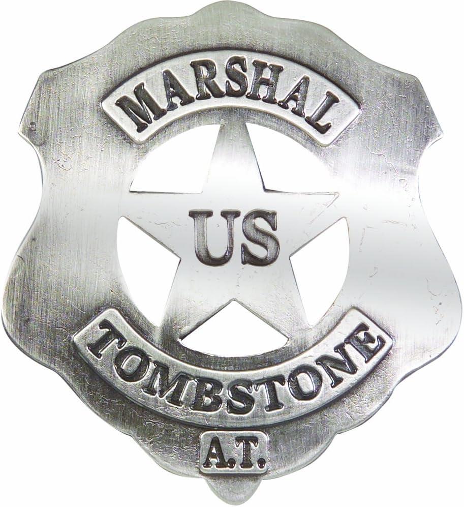 Denix Old West Replica Tombstone U.S. Marshall's Badge
