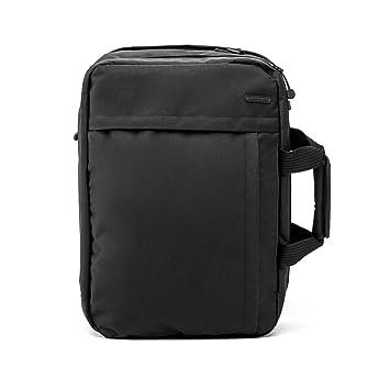 ECO Mochila convertible, bolsa de viaje con bandolera y maletín NOMAD de cabina para viajes cortos. (Negro): Amazon.es: Equipaje