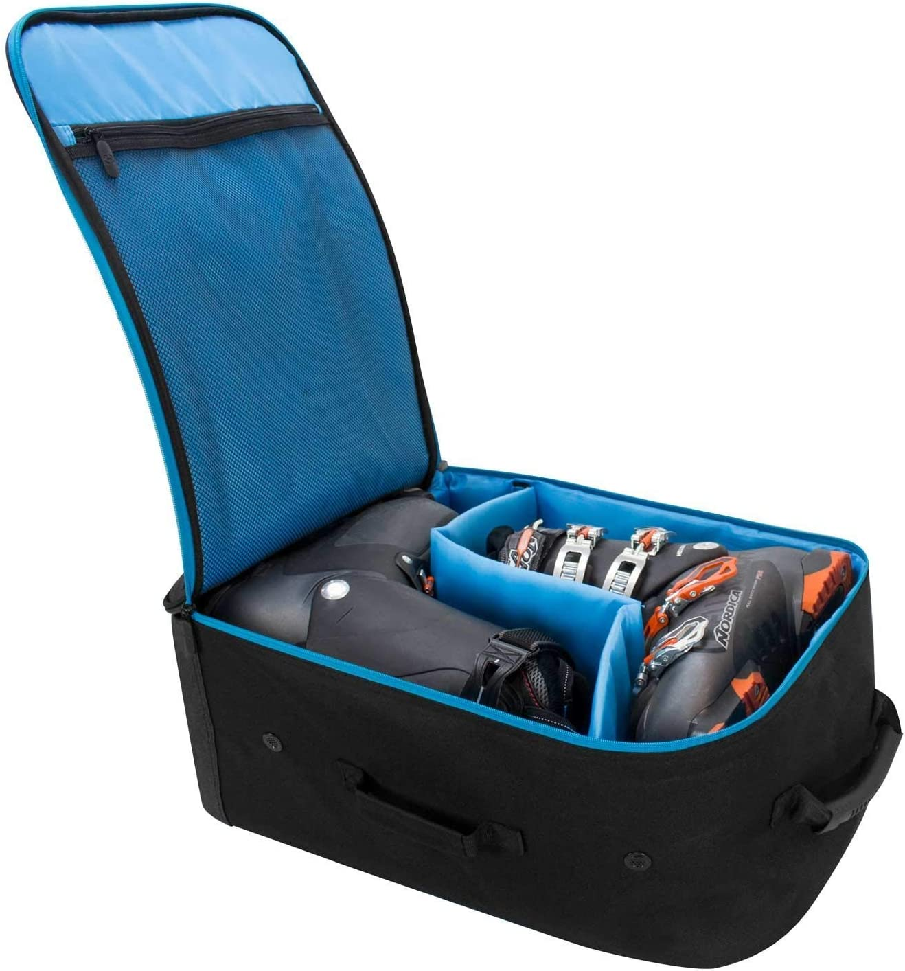 Winterial 2018 Ski Boot Bag//Snowboard boot bag//Extra Storage//Water Resistant//Backpack//Black