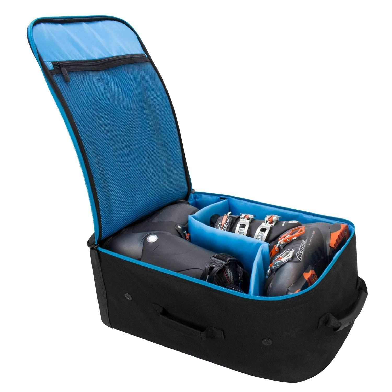Extra Storage Snowboard boot bag Black Winterial Ski Boot Bag Water Resistant Backpack