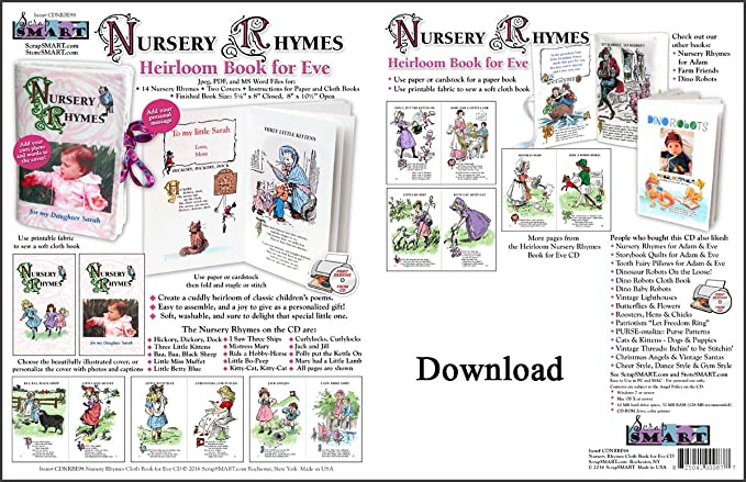 Nursery Rhymes Pdf Books