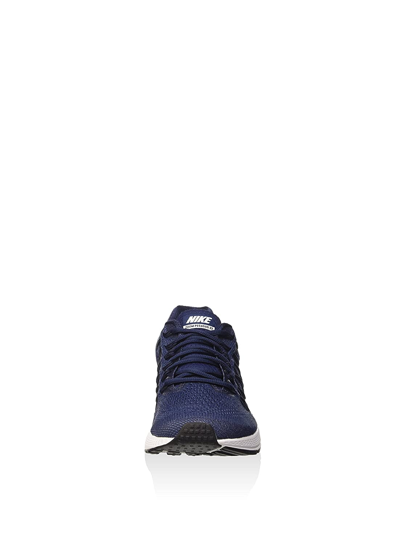 timeless design eaf28 e66d7 Nike Air Zoom Pegasus 32, Scarpe da Corsa Uomo Multicolore Azul Blanco  (Midnight Navy White-Mdnght Nvy) 39  Amazon.it  Scarpe e borse