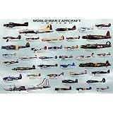 (24x36) World War II Military Aircraft Educational Chart Poster