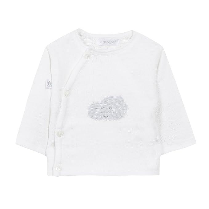 Absorba Boutique Tricot, Jersey Unisex bebé, Marfil (Ecru 11), 68 cm