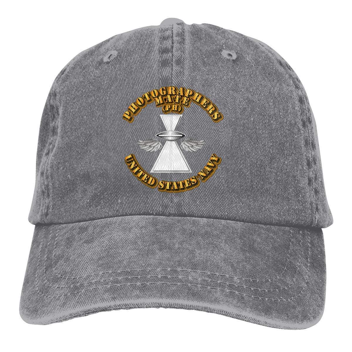 Rate Lilyo-ltd Navy Photographers Mate Vintage Baseball Cap Trucker Hat for Men and Women