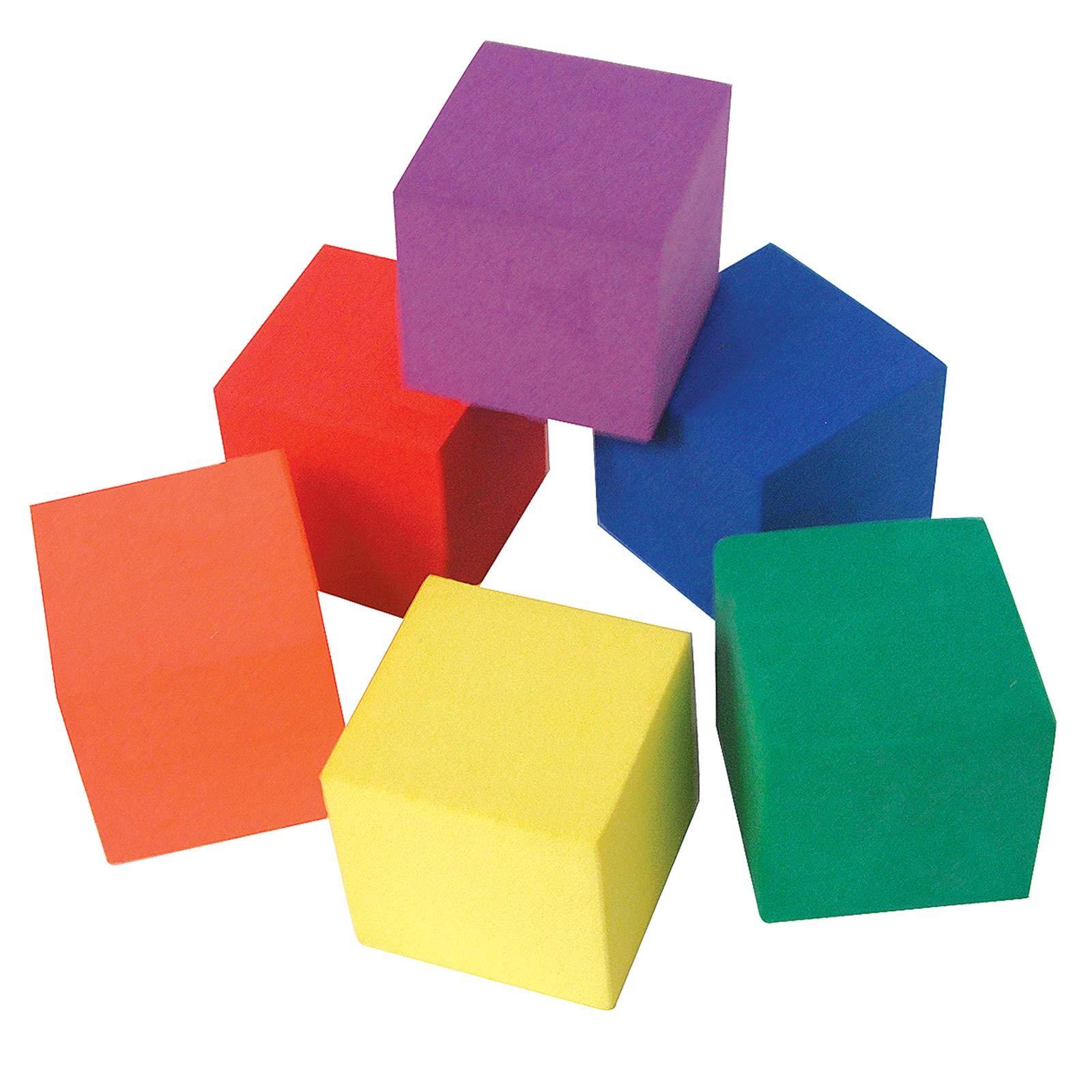 Teacher Created Resources Foam Color Cubes (20615), Multi