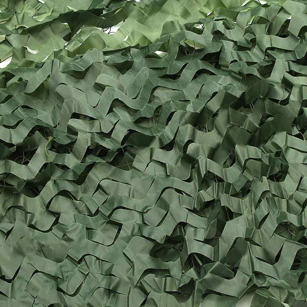 HYFAN Filet de Camouflage Vert pour Les aveugles Camping Parasol Chasse tir Militaire