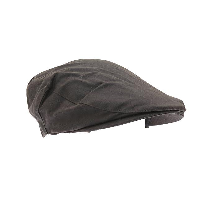 FLOSO - Boina/Gorra inglesa térmica Thinsulate hombres invierno (3M 40g) (60cm