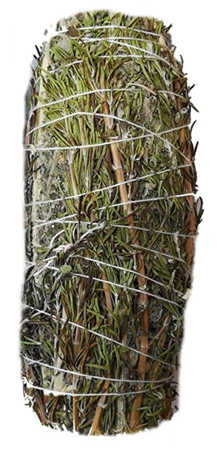 ExcIdea White Sage Bundle with Rosemary 100 Grams Smudging Removes  Negativity
