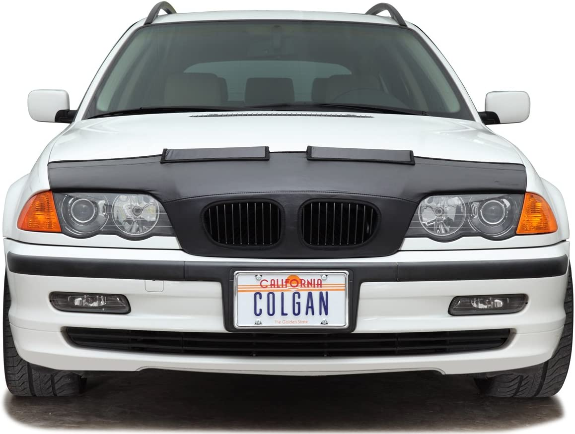 Black Vinyl Colgan Custom Fit Original Front End Mask for Select Jeep Grand Cherokee Models