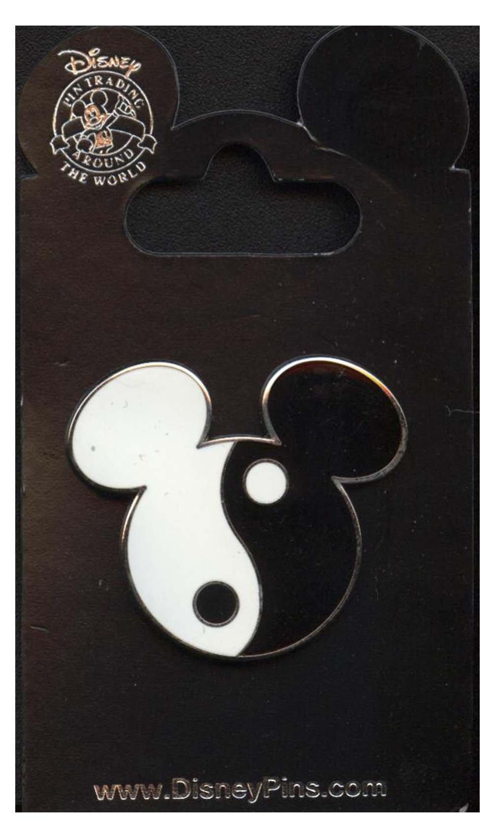 Disney Pins - Mickey Mouse Icon - Yin Yang- Pin 193