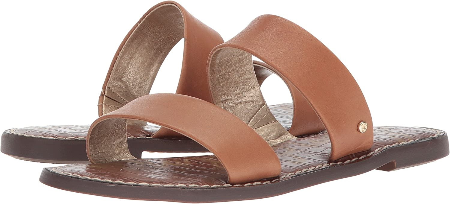 Sam Edelman Women's Gala Slide Sandal B076MCL384 7 B(M) US|Saddle Atanado Leather