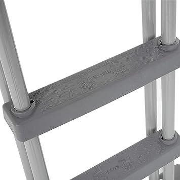 Bestway 58332 - Escalera para Piscina Desmontable 132 cm: Amazon.es: Juguetes y juegos