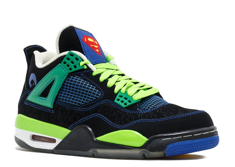 info for 8d6ee 62123 Amazon.com   Nike Air Jordan Men s 100% Authentic DS Nib 4 IV Retro  Doernbecher 2011 308497-015 Black Old Royal Electric Green White Leather (11)    ...