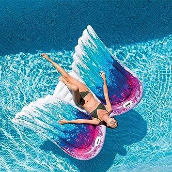 SXC Flotador Inflable de la Mariposa del ala del ángel,Piscina ...