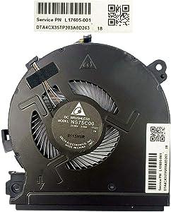 HK-Part Fan for Hp Spectre X360 15-CH NS75C00-17J22 CPU Cooling Fan L17605-001
