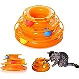560021 Gioco interattivo per gatti a torre circolare con palline rotanti. MEDIA WAVE store