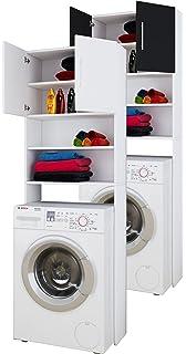Hochschrank Eiche Sonoma 180 x 45 cm - Umbauschrank Waschmaschine ...