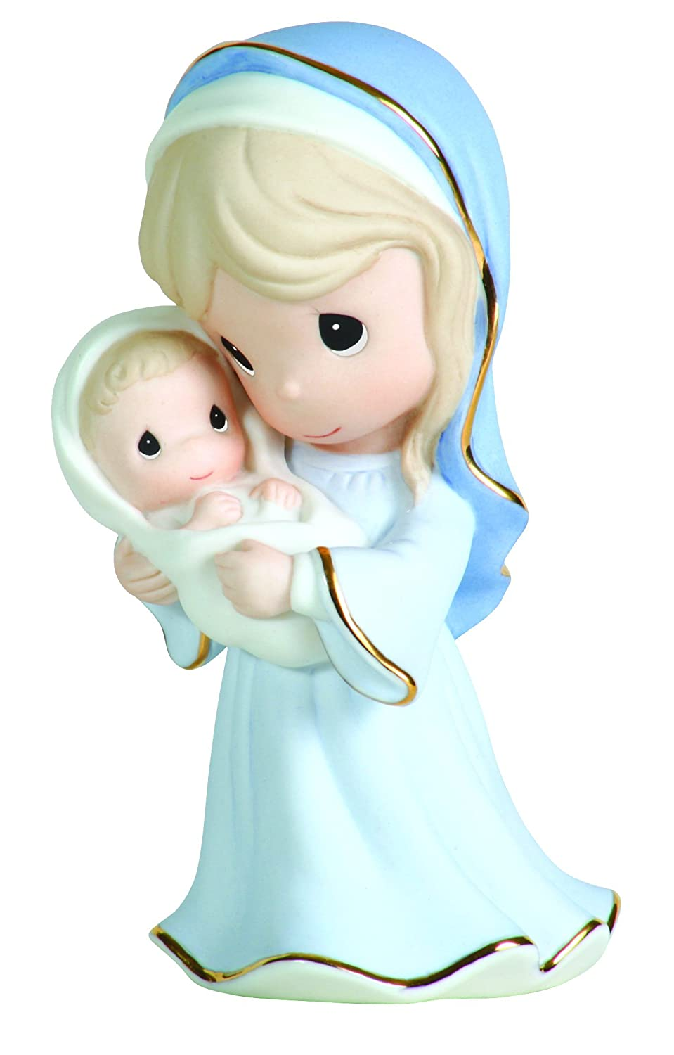 Precious Moments Mary Holding Baby Jesus Figurine A Love Like No Other