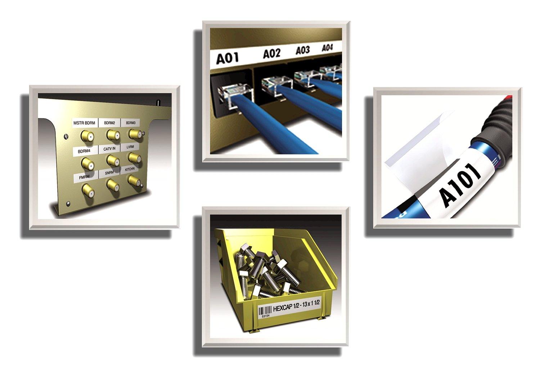 Dymo Rhino 6000 Etichettatrice professionale Tastiera ABC con custodia rigida