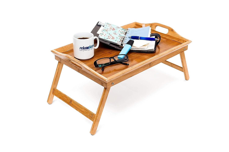 Mesa de Desayuno doble función y borde alto