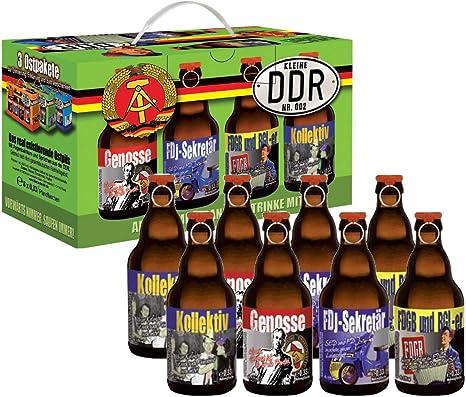 Cerveza y más DDR cerveza en 8 de regalo ostpaket notebook 1 (Pack de 8, 8 x 0.33 l): Amazon.es: Alimentación y bebidas