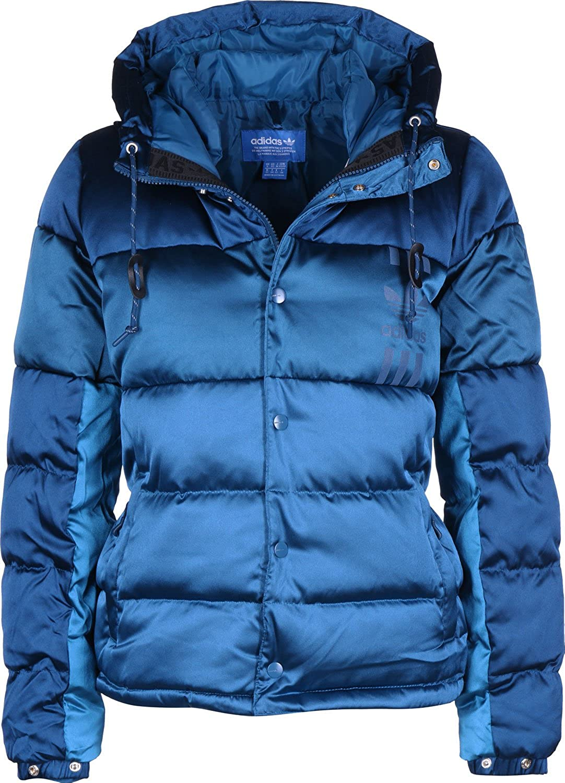 adidas Originals Veste Doudoune ID 96 Bleu Femme: