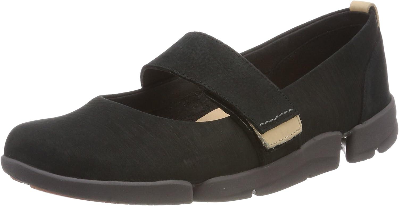 Clarks Tri Carrie, Zapatos de Cordones Derby para Mujer