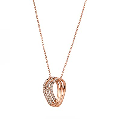 Buy M4U Fashion Rose Gold Chain Pendant Online at Low Prices in India  a80c42c16
