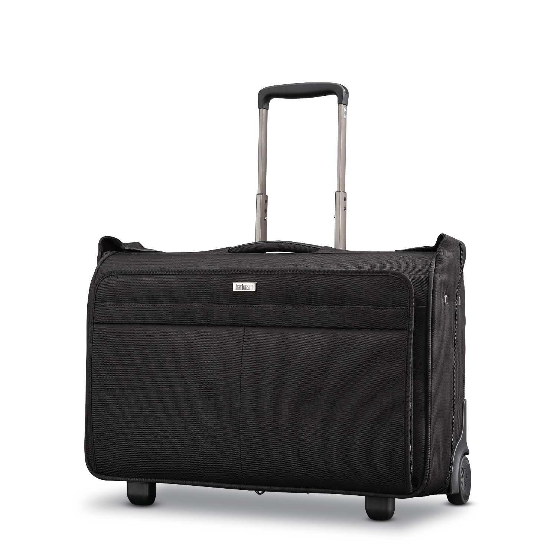 Hartmann Carry on Wheeled Garment Bag, Basalt Black