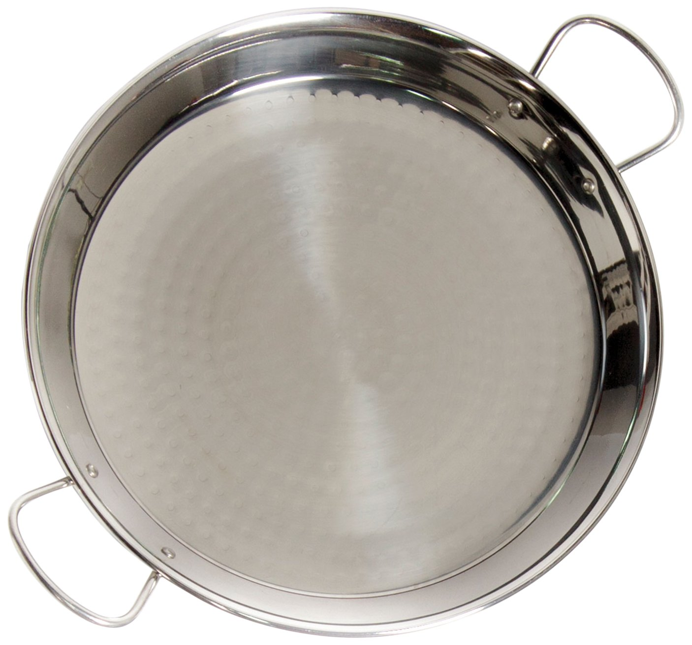 Vaello Campos Stainless Steel Paella Pan 42Cm (10 People)