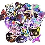 Beyong Cool Vinyl Stickers for Laptop Skateboard Water Bottles Car Decals Adults Teens Gifts (1 Galaxy Sticker 70Pcs)