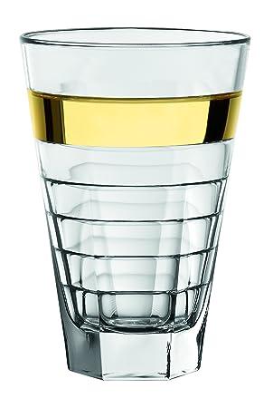 barski – Europea cristal – vasos altos vaso – con banda de oro – 14,