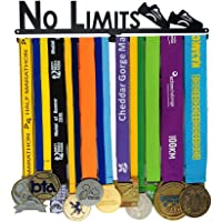 "El Allied Medal Hook se mantiene fuerte y fuerte para completar la robustez. The City Campaign Medal Show Kit completo Medalla Holder Bib Hanger Run | Runner's Race Medal Hanger | Runner Girl Campaña ""Sin límites"" Medalla de maratón Mostrar Medalla de suspensión Soporte de suspensión Soporte de exhibición"