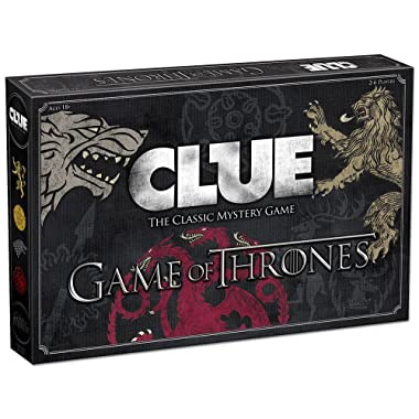USAopoly CL104-375 Clue Game of Thrones Board Game | Official Merchandise | Based on The Popular TV Show on HBO Game of Thrones