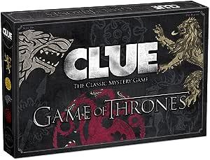 CLUE: Game of Thrones Board Game by USAopoly: Amazon.es: Juguetes y juegos