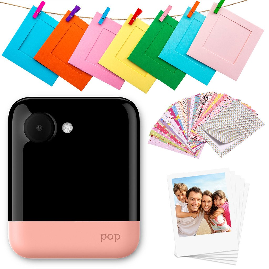 Polaroid POP 2.0-20MP Instant Print Digital Camera with 3.97' Touchscreen Display, Built-in Wi-Fi, 1080p HD Video, Pink C&A Marketing (Inc) POL-POP1PKAMZ