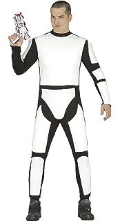 Guirca- Disfraz adulta soldado espacial, Talla 36-40 ...