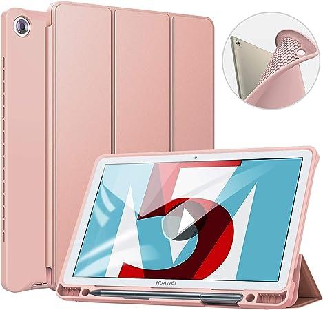 ZtotopCase Custodia Huawei M5 10.8, Smart Cover Ultra Sottile con portapenne, Sleep/Wake-up Automatico, Compatibile per Huawei MediaPad M5 / M5 PRO ...