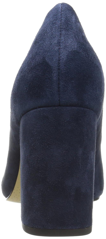 Bella Vita Women's Nara Dress Pump B01ED2RD8W 8.5 E US|Navy Kid Suede