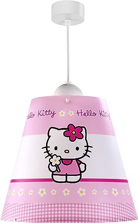 Suspension Dalber Plafond Hello KittyAmazon Conique Lampe De 0w8NvnOm