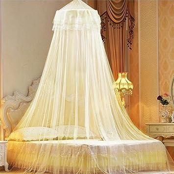 Moskitonetz Dome Für Single Twin Full Queen Size Spitze Prinzessin Bett  Baldachin Insekt Fly Schutz Bildschirm