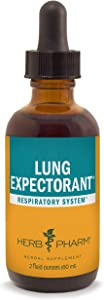 Herb Pharm Lung Expectorant Liquid Herbal Formula to Support Respiratory Immune Response - 2 Ounce