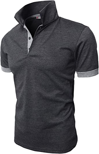 Amazon Com H2h Mens Casual Slim Fit Polo T Shirts Basic Designed Of Various Styles Clothing
