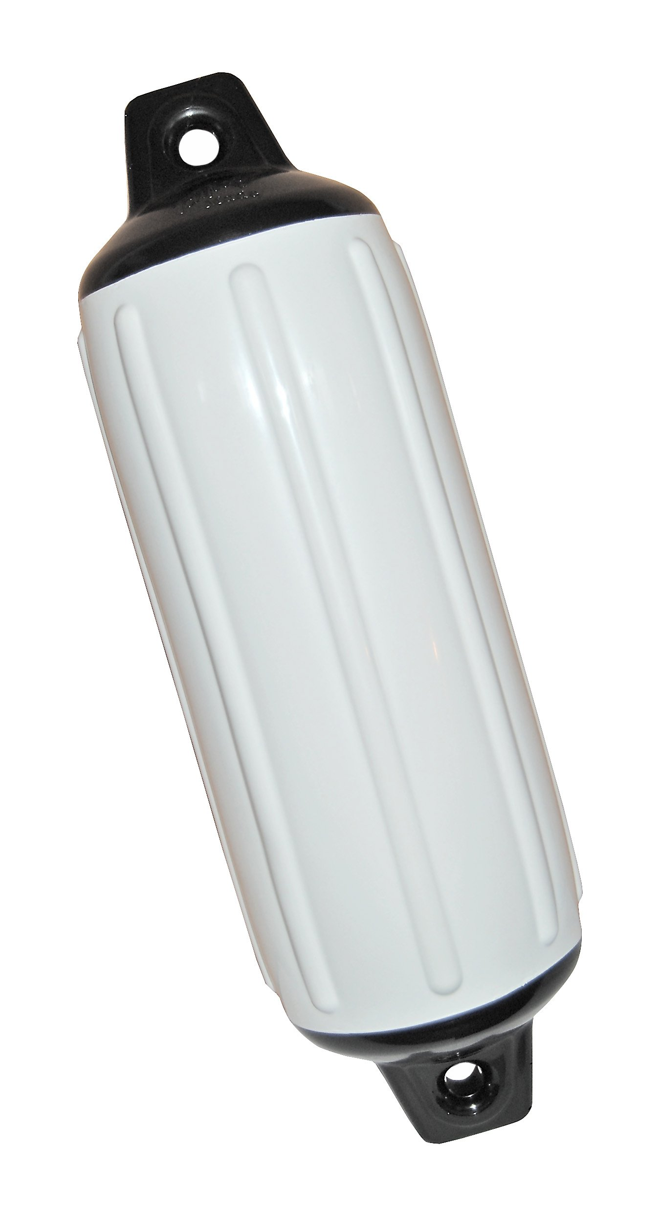 Taylor Made Products 950824 Super Gard Inflatable Vinyl Boat Fender, 8.5 x 26 inch, White by TaylorMade