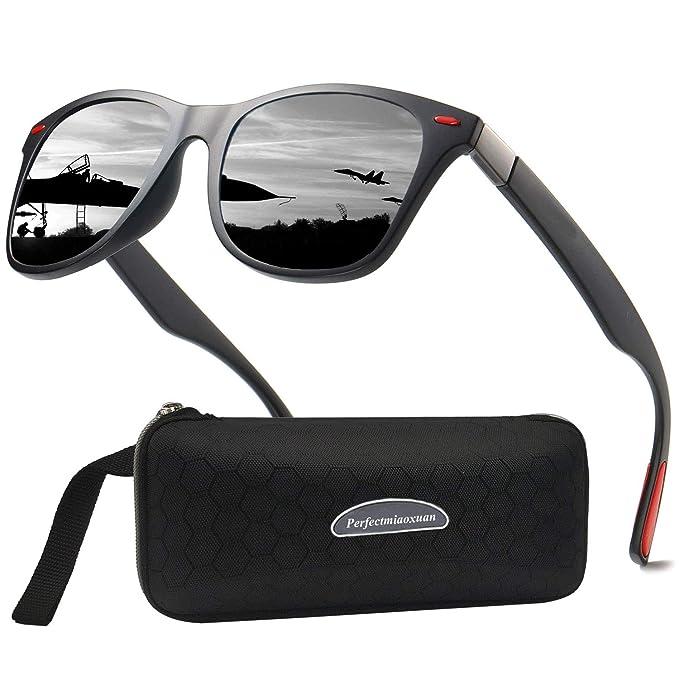 Gafas de sol polarizadas Hombre Mujere Lujo Retro/Aire libre Deportes Golf Ciclismo Pesca Senderismo 100% protección UVA gafas unisex golf conducción ...
