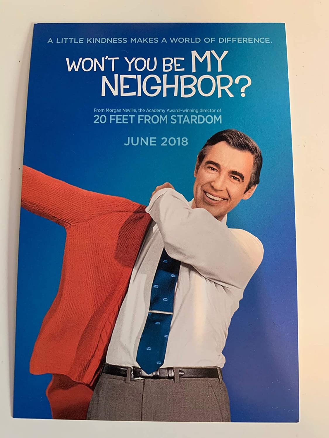 Won T You Be My Neighbor Original Movie Postcard 4 X6 2018 Fred Rogers At Amazon S Entertainment Collectibles Store