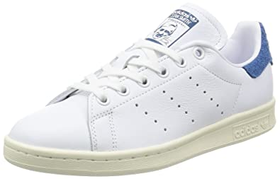 grand choix de feb46 59d4a Amazon.com | adidas Women's Stan Smith W, White/Blue, 6 US ...