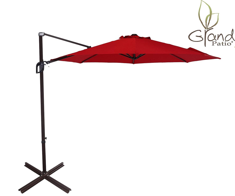 Grand Patio 10 FT Aluminum Offset Umbrella