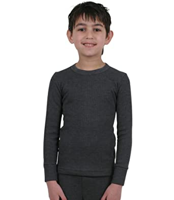 Amazon.com: ETHO 4 Pack Childrens/Boys Thermal Underwear Long ...